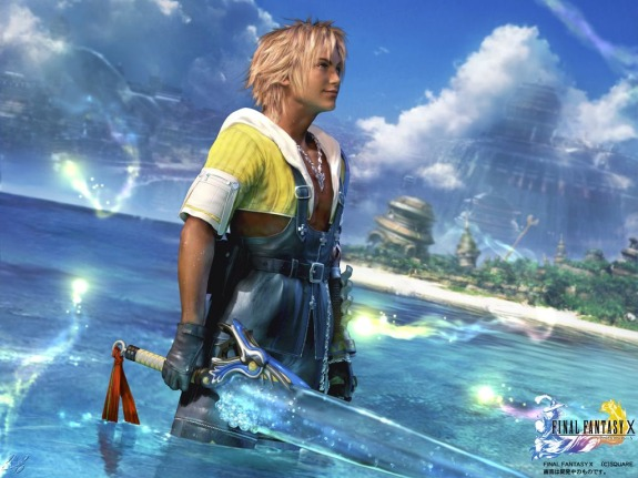 Final Fantasy X Tidus Final Fantasy X HD Coming to PS3 and Vita!!!
