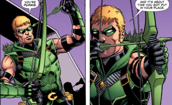 Green Arrow Quick Hits (Not a Review!) on DC Comics New 52