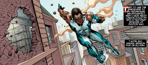 Mr Terrific More Quick Hits (Not a Review!) on DC Comics New 52