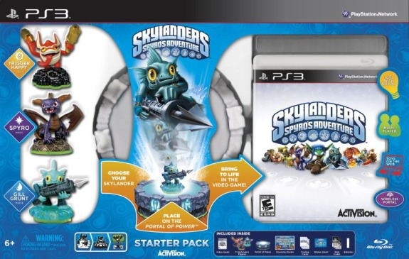 Skylanders starter pack Coffee Talk #414: Skylanders    Brilliant, Evil, or Both?