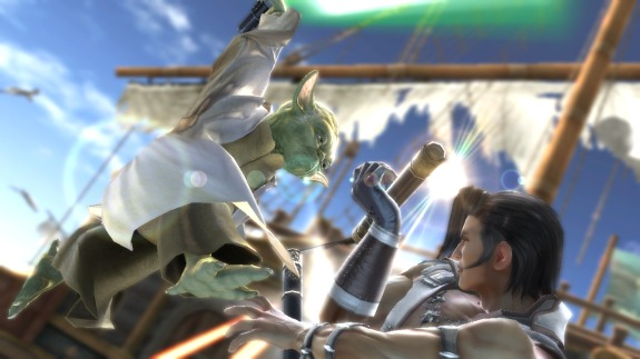Yoda Soul Calibur IV Coffee Talk #413: Your Favorite Videogame Crossovers
