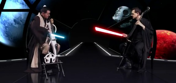 Cello Wars Cello Wars (Star Wars Parody) Lightsaber Duel Rules!!!