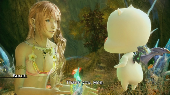 FFXIII 2 Serah Bikini Square Enix Returns to Profitability in Fiscal 2012