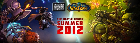 Mega Bloks WoW Blizzard and Mega Bloks Reveal Toy Info and Images