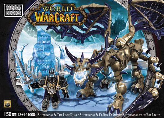 Mega Bloks lich king Blizzard and Mega Bloks Reveal Toy Info and Images