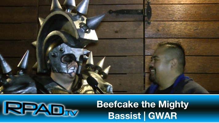 Beef Cake the Mighty GWAR