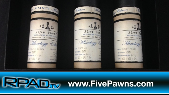 Five Pawns Mixology Review (Castle Long, Lucena, Sixty-Four)
