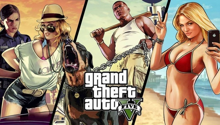 Grand Theft Auto V Official Gameplay Video Trailer