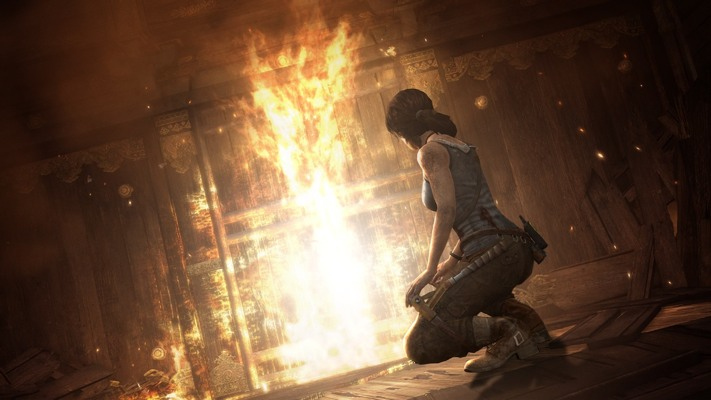 Tomb Raider December 2012 New Tomb Raider Screens