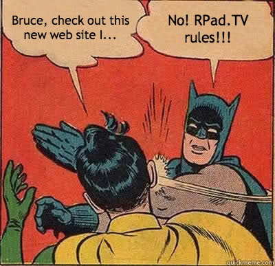 Make Your Own Batman & Robin Meme