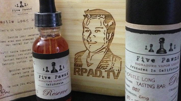 Five Pawns Castle Long Reserve 2 Vaping Diaries #79: Five Pawns Review