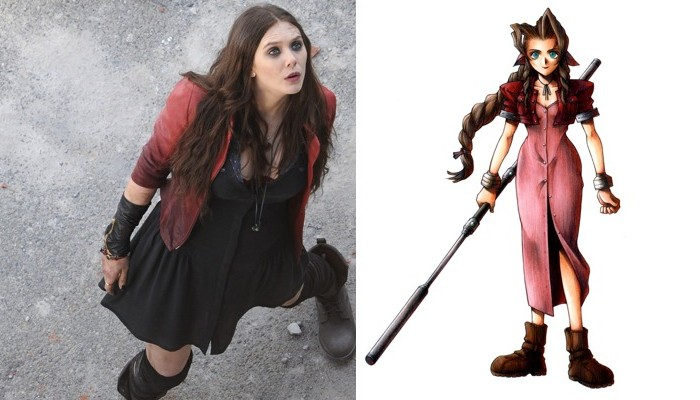 Separated at Birth: Scarlet Witch and Aerith Gainsborough?
