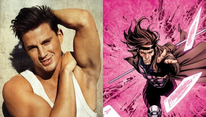 Channing Tatum as Gambit is…